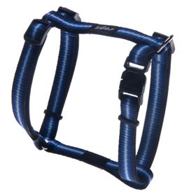 Rogz - Pavement Special Midget Dog H-Harness Small -11mm Blue