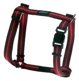 Rogz - Pavement Special Midget Dog H-Harness Small - 11mm Red