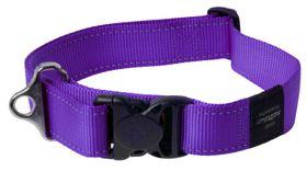Rogz - Utility 40mm Dog Collar - Purple