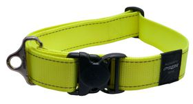 Rogz - Utility 40mm Dog Collar - Yellow