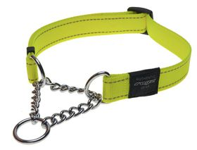 Rogz - Utility 16mm Half-Check Collar - Yellow