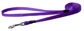 Rogz - Utility 11mm Fixed Dog Lead - Purple