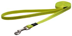 Rogz - Utility Nitelife Fixed Dog Lead - Small - Yellow Reflective