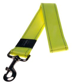 Rogz - Utility 40mm Fixed Dog Lead - Yellow