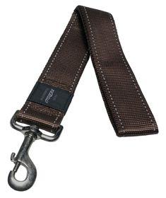 Rogz - Utility 40mm Fixed Dog Lead - Brown