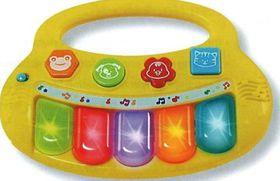 Winfun - Baby Fun Flashing Keyboard - Multi Coloured