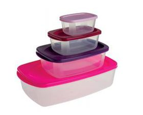 Gizmo - 4-In-1 Rectangular Container Set