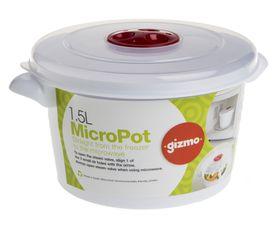 Gizmo - 1.5 Litre Microwave Pot