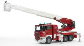 Bruder SCANIA Fire Engine Ladder & Water Pump, Lights with Sound