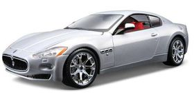 Bburago 1-24 Maserati Granturismo - Silver