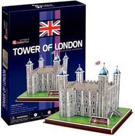 Cubic Fun Tower of London UK - 40 Piece 3D Puzzle