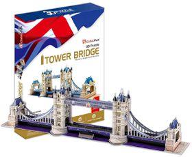 Cubic Fun Tower Bridge UK - 120 Piece 3D Puzzle