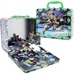 Puzzle In Lunch Box - Teenage Mutant Ninja Turtles - 48 Pieces