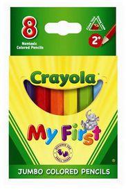 Crayola My First - 8 Jumbo Pencils