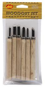 Dala Wood Carving - Set of 6 Blades