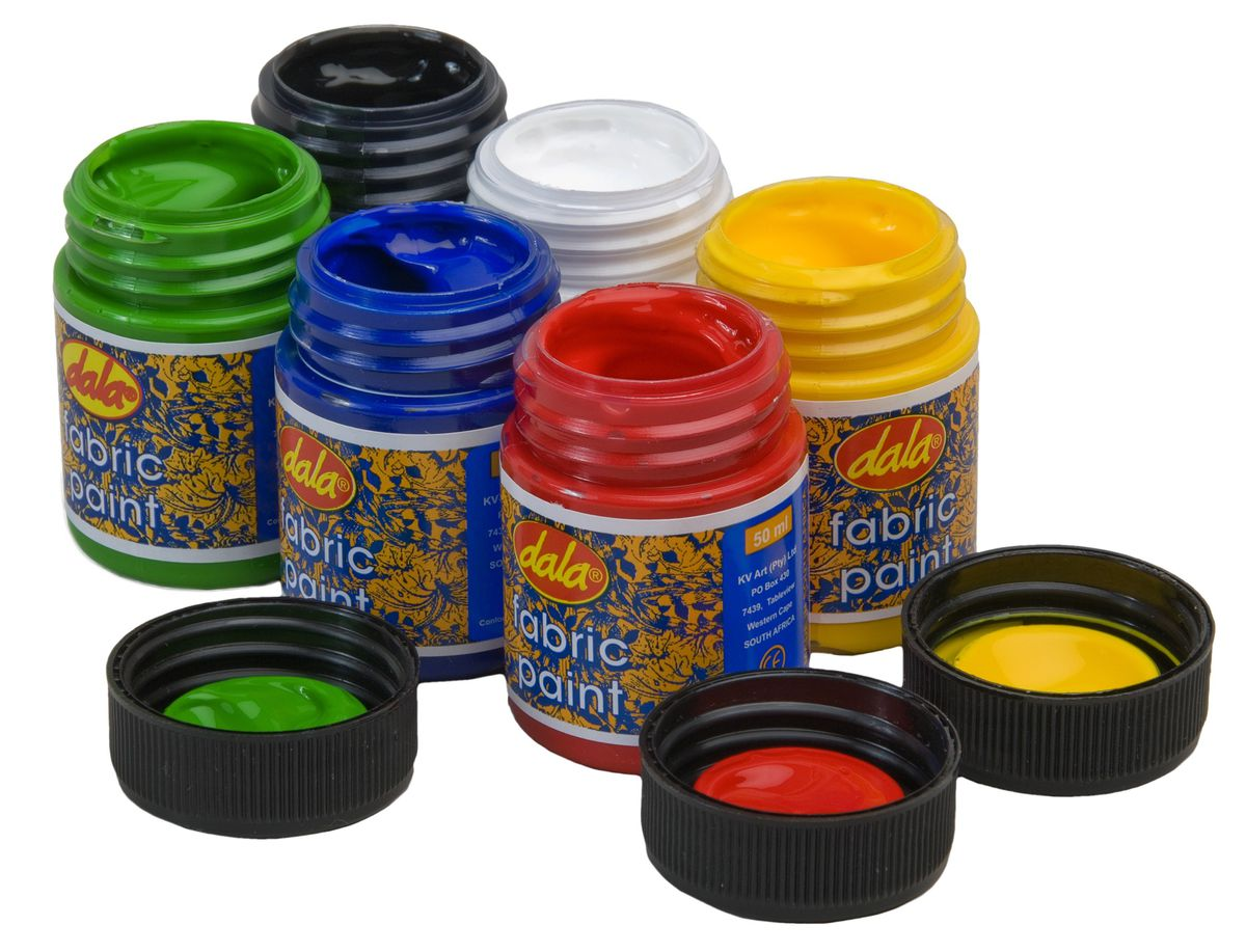 Dala Fabric Paint Kit - 6 X 50ml | Buy Online in South ...