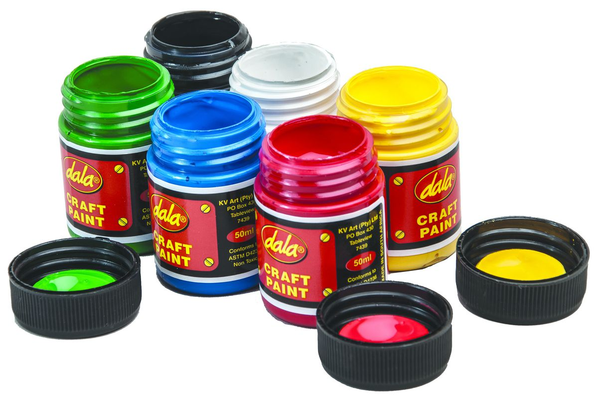 Dala craft paint kit 6 x 50ml buy online in south africa dala craft paint kit 6 x 50ml loading zoom sciox Images