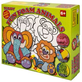 Teddy Fun Foam Animals