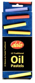 Dala 15 Oil Pastels