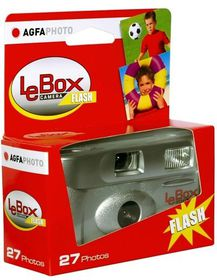 Agfa Lebox 400 Disposable Camera With Flash