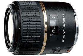 Tamron 60mm f/2 G005 SP Macro 1:1 Di II Lens