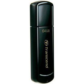 Transcend JetFlash 350 USB Flash Drive - 64GB