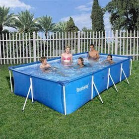 Bestway - 5.7Kl Splash Jr. Frame Pool (No pump & filter) - 400cm x 211cm x 81cm