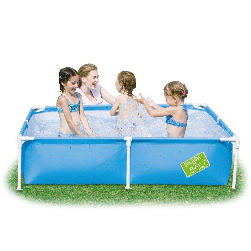Good Bestway   800L My First Frame Pool   162.5cm X 162.5cm X 35.5cm. Loading  Zoom