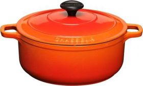 Chasseur - 10cm Round Casserole - Orange
