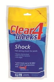 HTH - Clear 4 Weeks Shock - 500g