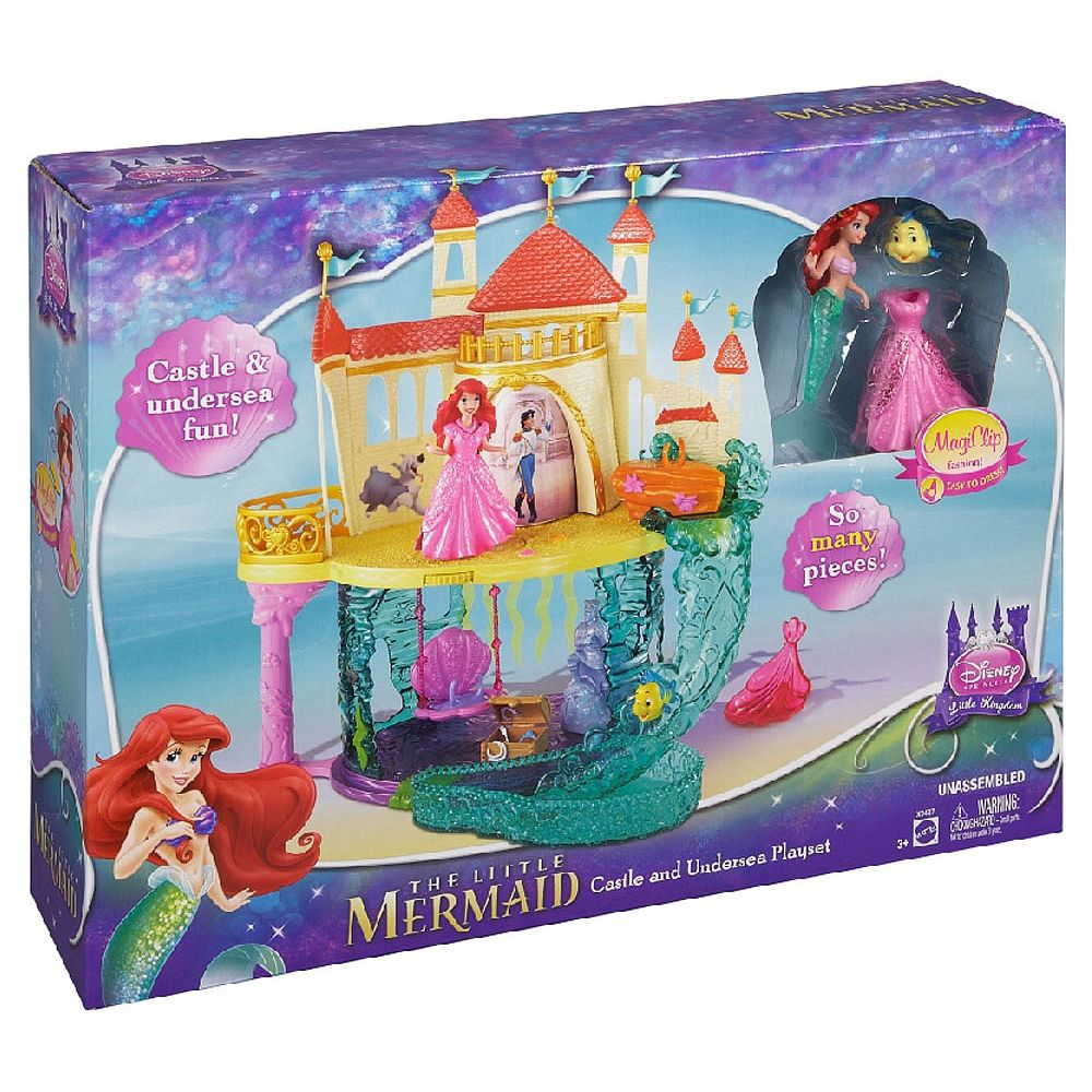 Disney Princess Ariel - The Little Mermaid Castle And ...