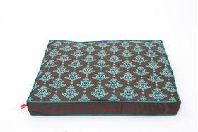 Wagworld - Extra-Large Futon Dog Bed - Damask Hound