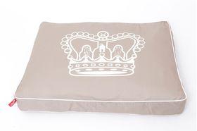 Wagworld - Huge Futon Dog Bed - Royal Crown
