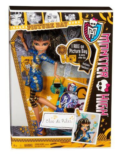 Monster High Picture Day Dolls  Cleo De Nile  Buy Online in