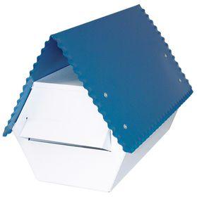 Fragram - Electro GAlva -nised Letter Box - Blue