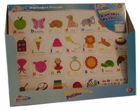 Grafix Educational Alphabet Puzzle Board