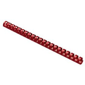 Parrot Plastic Binding Combs - 25mm - Red