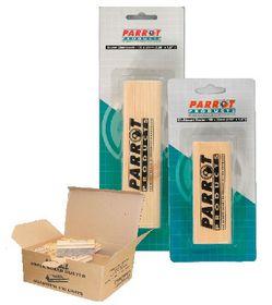 Parrot Wood Chalk Board Duster - Grey