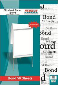 Parrot Flipchart Paper - Bond 50 Sheets