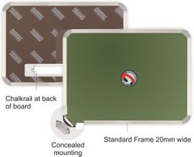 Parrot Chalk Board - Magnetic 600 x 450mm