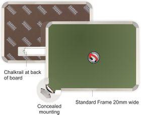 Parrot Chalk Board - Magnetic 1800 x 1200mm
