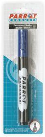 Parrot Permanent Marker Bullet Tip - Blue