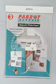 Parrot A4 Magnetic Photo Paper - Pack of 3