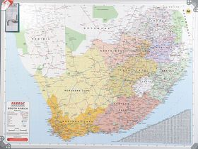 Parrot Magnetic Wall Map - South Africa