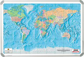 Parrot Products Parrot Magnetic Wall Map World Buy Online In - Buy wall map of the world