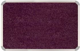 Parrot Aluminium Frame Bulletin Board - Tropical Maroon (1000mm x 1000mm)