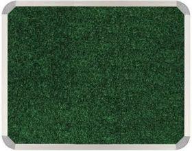 Parrot Aluminium Frame Bulletin Board - Palm Green