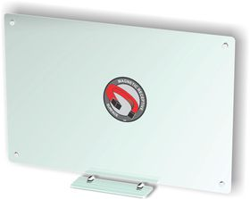 Parrot Glass Whiteboard Magnetic - Clear 1200 x 900mm