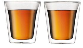 Bodum - Canteen Double Wall Mug - Set Of 2 - Medium Transparent