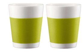 Bodum - Canteen Double Wall Mug - Set Of 2 - Lime Green